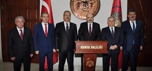 YÖK Başkanı Saraç Konya'da NEÜ ev sahipliğinde UNİKOP Rektörleri ile buluştu