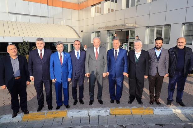 Başkan Uysal, 3 ilçede proje yatırım ve hizmet toplantısı yaptı