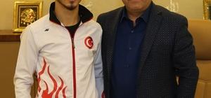 Darıcalı Eray 6. kez Avrupa şampiyonu