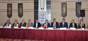 Konya'da üniversite-sanayi işbirliği protokolü imza töreni