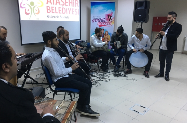 Ataşehir'de Roman vatandaşlara nota eğitimi