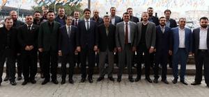 Başkan Karaosmanoğlu'dan iş adamlarına ziyaret