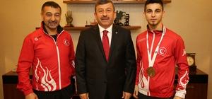 Karabacak Avrupa Şampiyonu'nu ağırladı