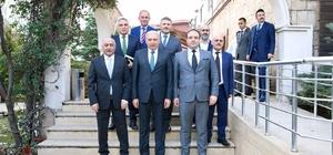 İBB Başkanı Mevlüt Uysal'dan Güngören Belediyesi'ne ziyaret