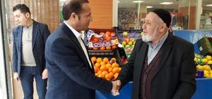 Başkan Toltar, esnafa hayırlı işler diledi
