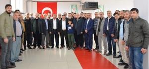 Başkan Toltar, Gümüşhanelilere misafir oldu