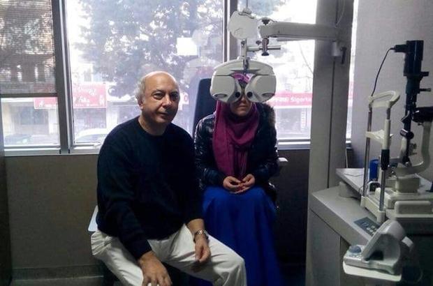 Kartepeli kadınlara ücretsiz göz taraması yapıldı