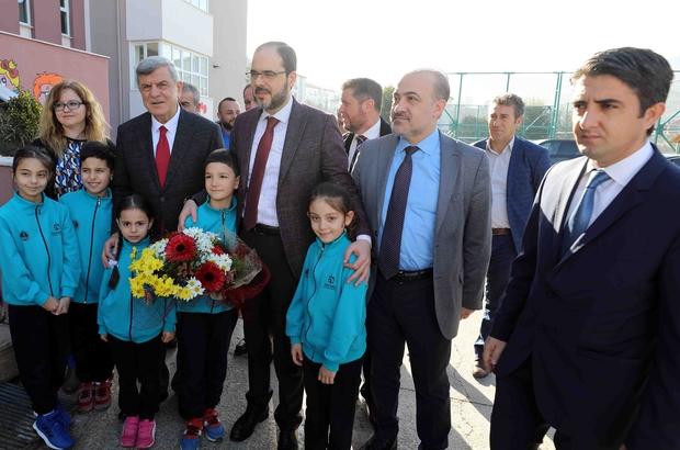 Başkan Karaosmanoğlu, Başiskele'de öğrenciler ile buluştu