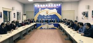 AK Parti Çorum Teşkilatı'nda ilçe koordinatörleri belirlendi