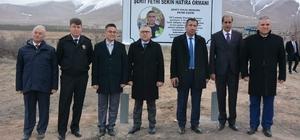 Niğde'de Şehit Polis Fethi Sekin adına hatıra ormanı oluşturuldu