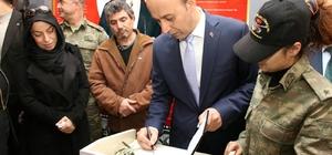 Şehit Çubukçu adına kütüphane açıldı