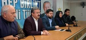 AK Parti İl Başkanı Yurdunuseven, mahalle temsilcileri ile bir araya geldi