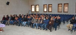 Nusaybin belediyesinden personele eğitim