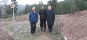 Simav'da grup köy yolu çalışmaları