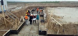 İpsala'da 20 bin tonluk lisanslı depo inşaatı başladı
