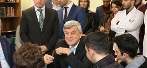Başkan Karaosmanoğlu öğrencilerle buluştu