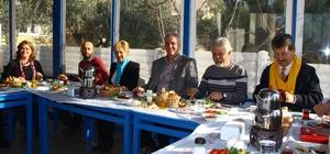 Edremit CHP İlçe Yönetimi, basın ile bir araya geldi