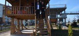Görele'de serender cafe hizmete açıldı