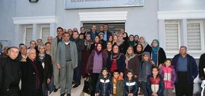 Başkan Çetin'in sabah toplantıları sürüyor