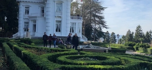 Atatürk Köşkü geçen ay 5 bin turisti ağırladı