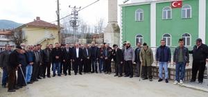 Köy halkından Mehmetçiğe bağış