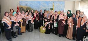 Türk demokratlar birliği üyelerinden büyükşehir belediyesine ziyaret