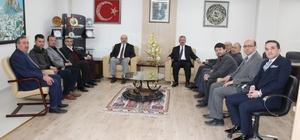 Bolvadin Esnaf Odası'ndan ESOB Başkanı Konak'a ziyaret