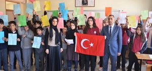 Öğrencilerden Afrin kahramanlarına duygu dolu mektup