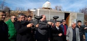 Suşehri'nde Paintball Sahası Açıldı