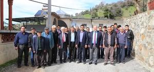 Başkan Özakcan, Gözpınar Mahallesini ziyaret etti