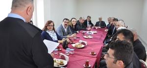 İlçe Emniyet Müdürlüğü huzur toplantısı