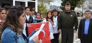 Köyceğizli öğrencilerden Mehmetçik'e mektuplu destek