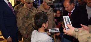 Jandarma Genel Komutanı Orgeneral Çetin Şırnak'ta