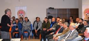 Mustafa Reşit Akçay, Kütahya'da söyleşiye katıldı