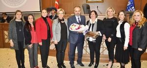 Başkan Aktaş'tan kadın girişimcilere destek