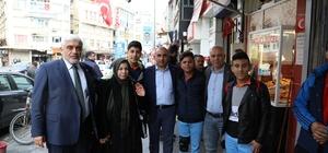 Karaman Belediye Başkanı Çalışkan Kilislilere destek verdi