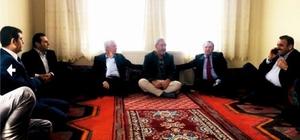 Kahta'da şehit ailesi yalnız bırakılmadı
