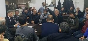 Başkan Özkan, vatandaşları dinledi