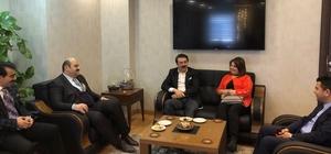 Aydemir Aziziye Belediyesinin konuğuydu