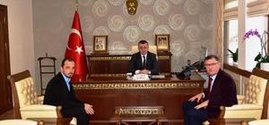 Başkan Duymuş'tan Vali Büyükakın'a ziyaret