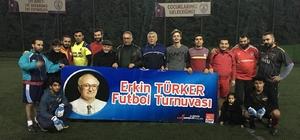 HP'li gençlerden eski ilçe başkanları anısına futbol turnuvası