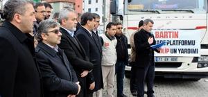 Bartın'dan Suriye halkına 1 ton un yardımı yola çıktı