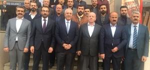 k Parti Şırnak il başkanı ve yönetim kurulu üyeleri Mardin'i ziyaret etti
