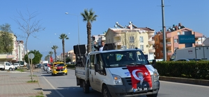 Didim'den Mehmetçiğe moral konvoyu