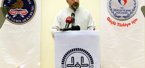 Diyanet İşleri Başkanı Erbaş, Hatay'da öğrencilerle buluştu