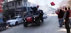 Foça'dan Afrin'e dualarla uğurlandılar