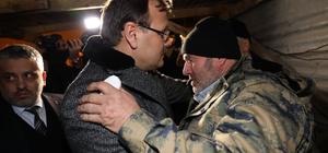 Başbakan Yardımcısı Çavuşoğlu'ndan şehit ailesine taziye ziyareti