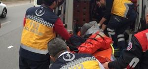 Kayseri'de bir kişi ayağından vurularak yaralandı