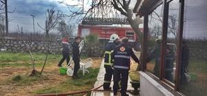 Akçakoca'da ev yangını korkuttu