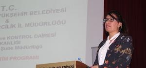 Büyükşehir Belediyesinden sağlık personellerine tıbbi atık semineri
